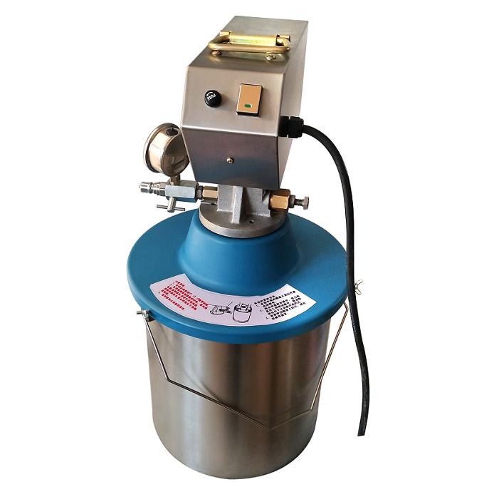 便携式插桶电动黄油机(电动补脂泵)