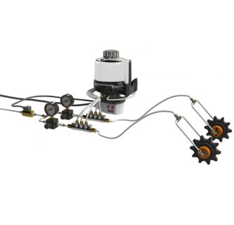 辅助链轮精确润滑系统