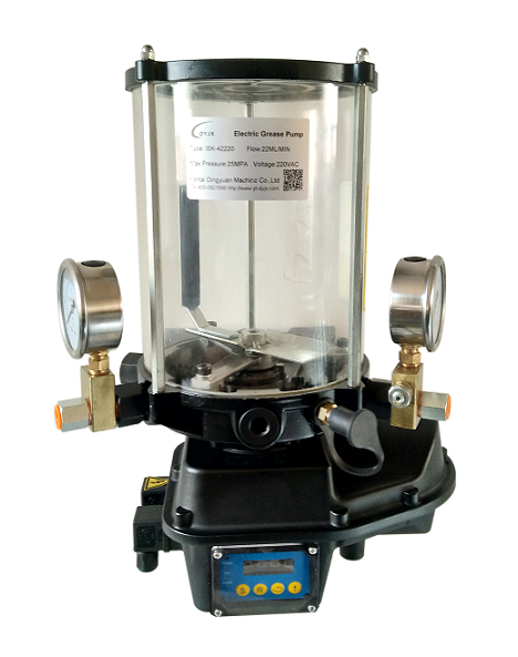 液晶显示多点电动油脂泵